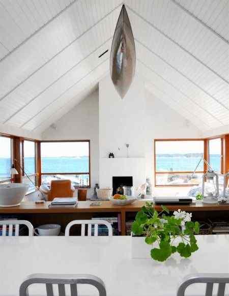Living comedor con decoración estilo contemporáneo