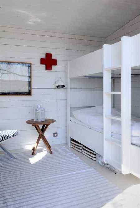 Habitación con decoración contemporánea