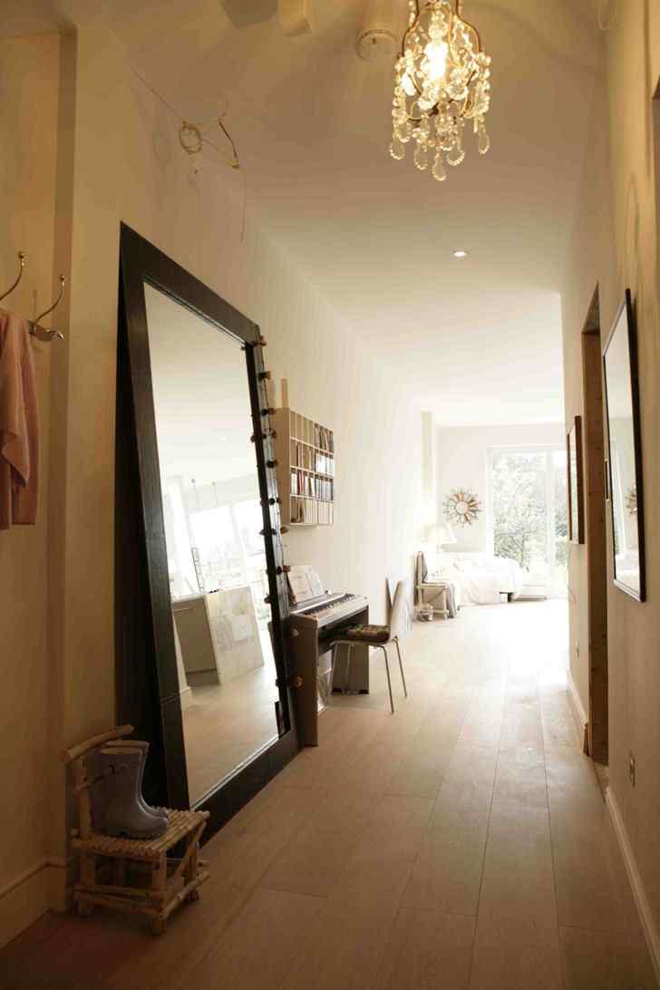 Decoración de interiores de casas modernas: hall de distribución