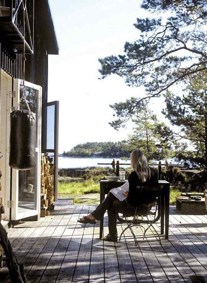 Decoración de casas pequeñas: cabaña de estilo rústico en Suecia 8