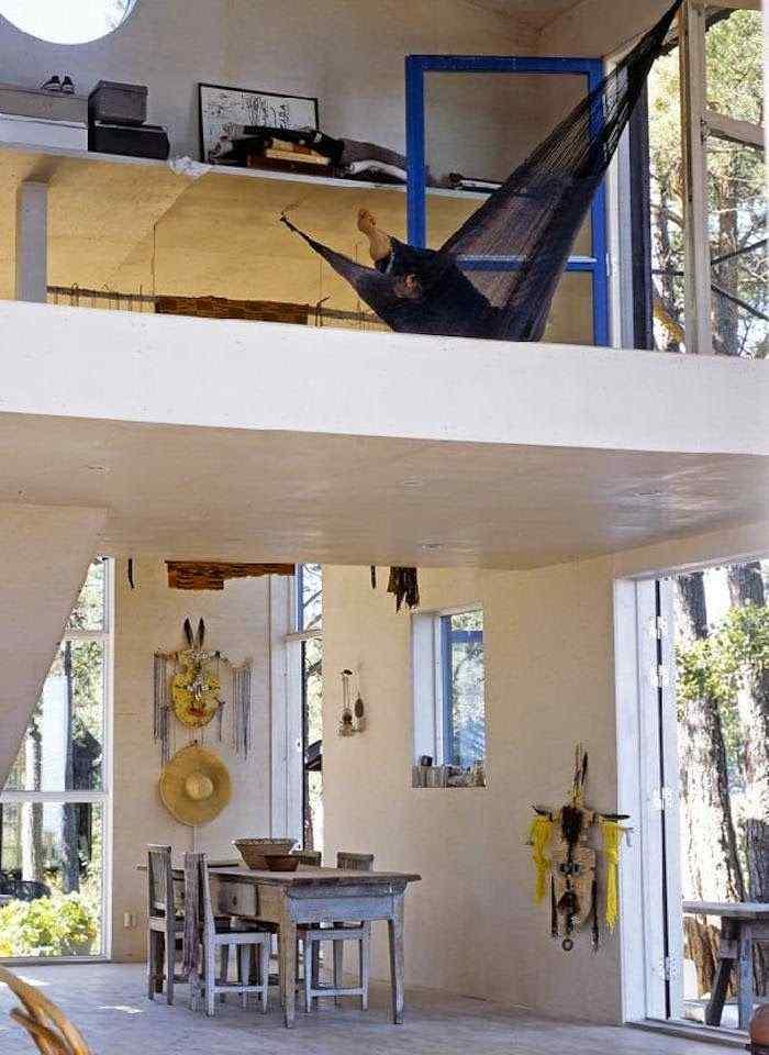 Decoración de casas pequeñas: cabaña de estilo rústico en Suecia 2