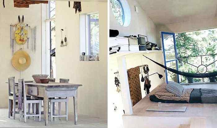 Decoración de casas pequeñas: cabaña de estilo rústico en Suecia 6