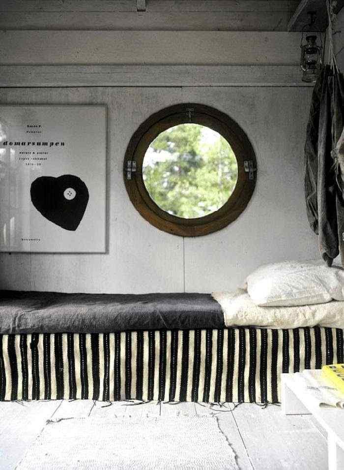 Decoración de casas pequeñas: cabaña de estilo rústico en Suecia 7