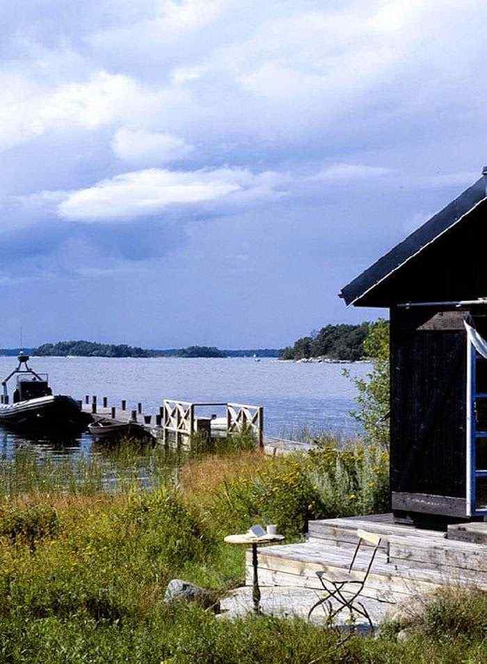 Decoración de casas pequeñas: cabaña de estilo rústico en Suecia 9