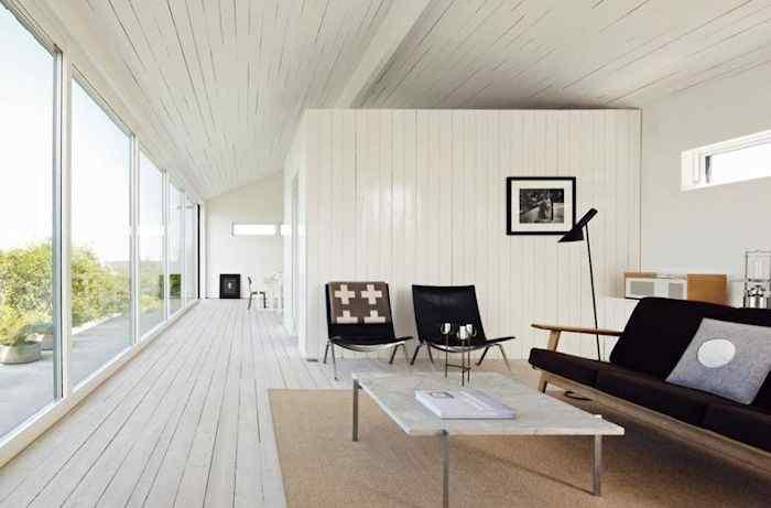 Estilo escandinavo: casa con decoración en blanco y negro