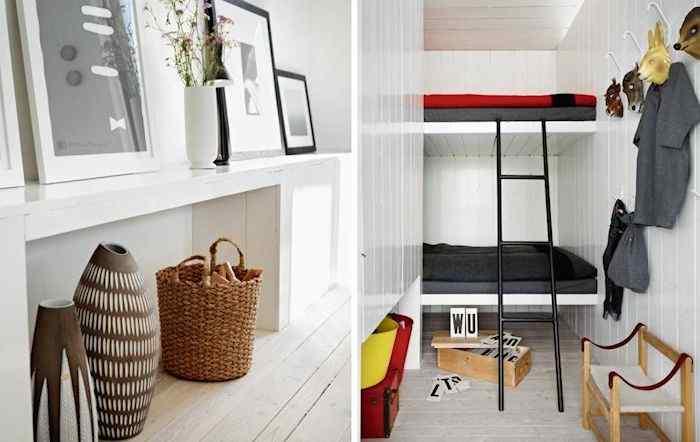 Estilo escandinavo: casa con decoración en blanco y negro 4