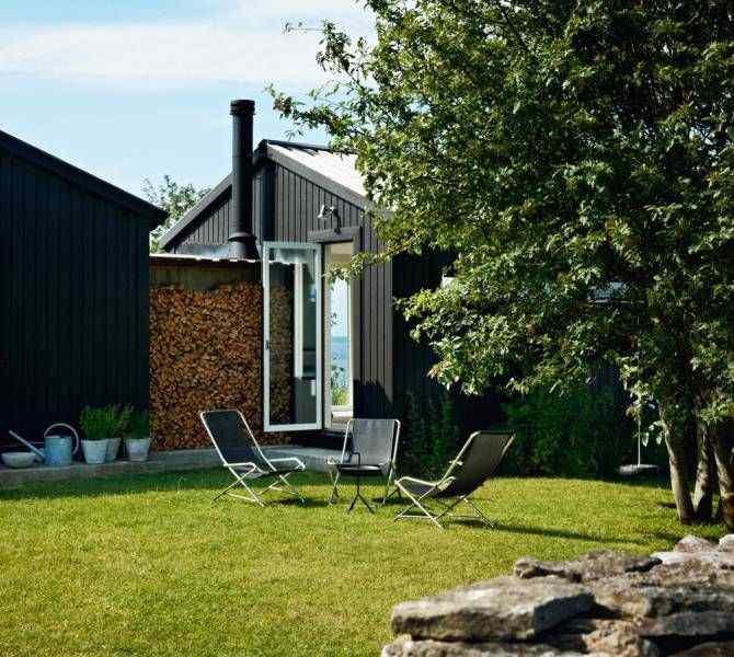 Estilo escandinavo: casa con decoración en blanco y negro 6