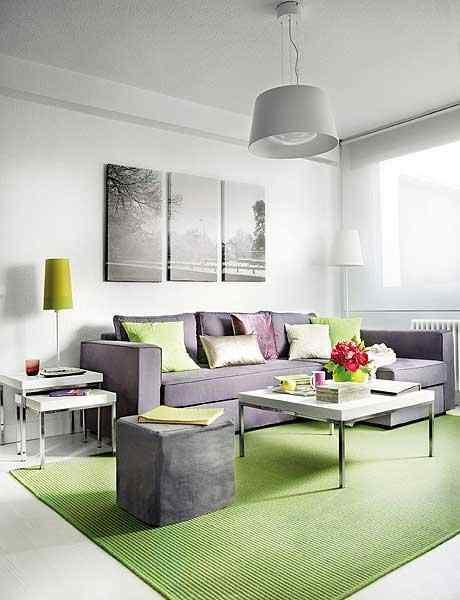 Diseño en 40m²: decoracion de departamentos pequeños 1