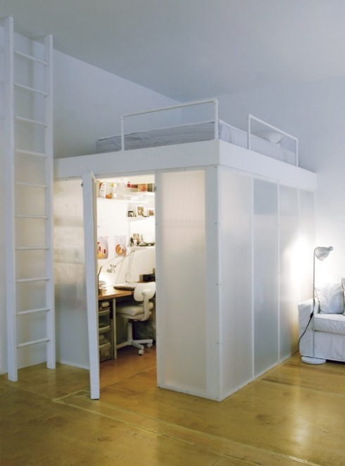 Monoambiente estilo loft 3