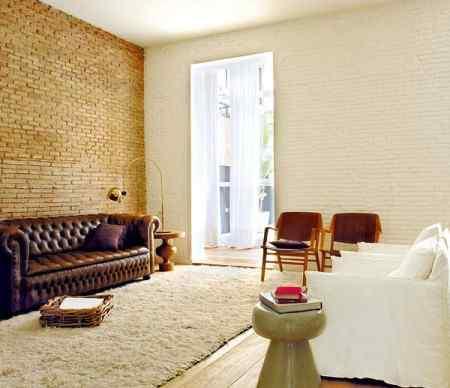 Departamento estilo loft en Barcelona
