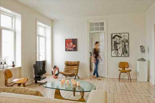 Apartamento pequeño en estilo nórdico
