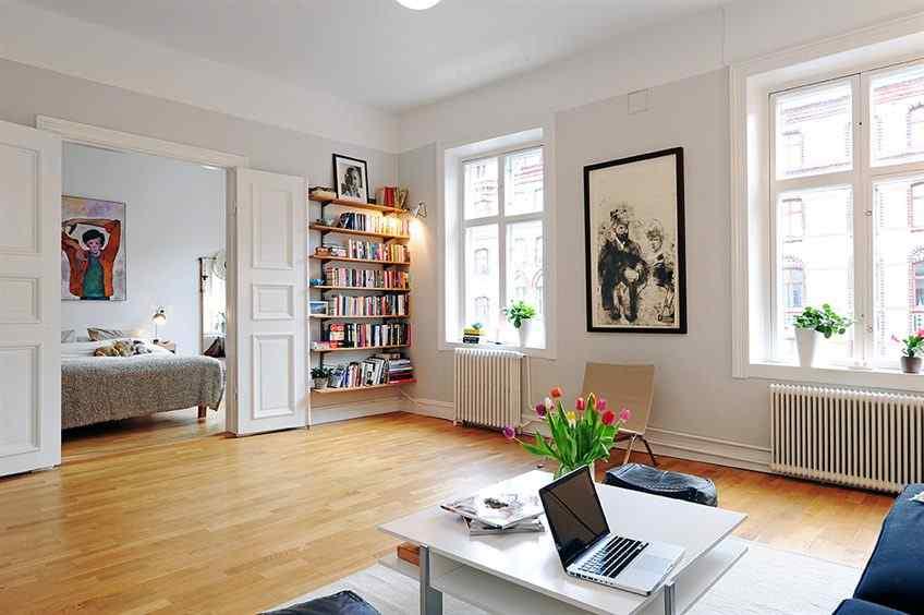 Departamento antiguo renovado en estilo nórdico 8