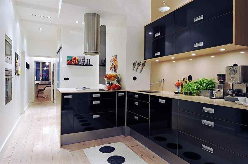 En la cocina es donde más se nota la remodelación del departamento