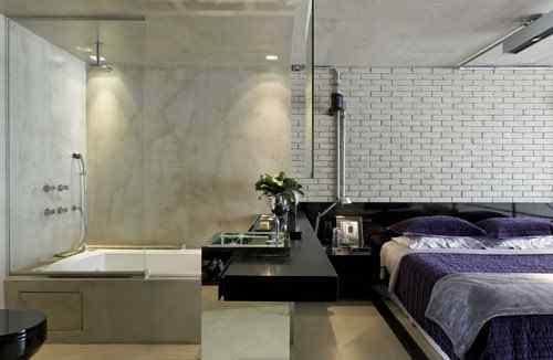 Baño integrado al dormitorio