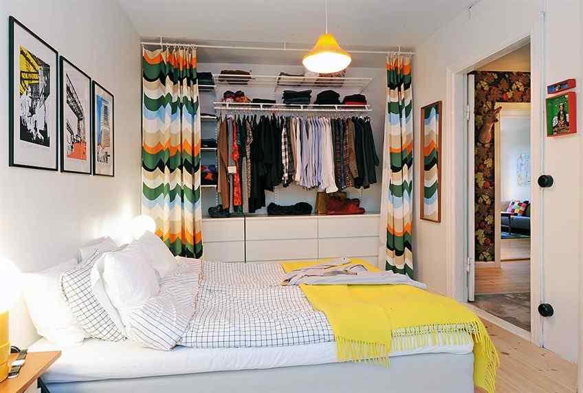 Acogedor y colorido departamento estilo y dise o for Cortinas departamentos pequenos