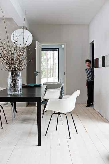 Decoración de casas: interiores en estilo moderno nórdico 11