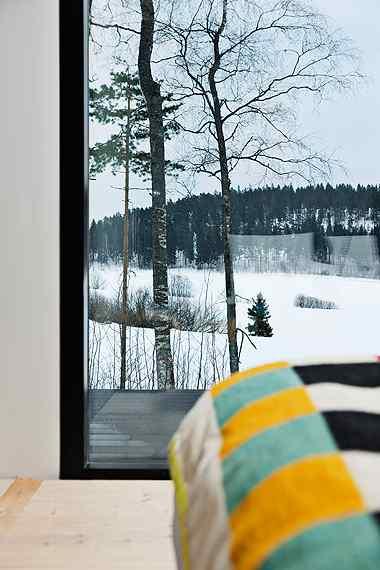 Decoración de casas: interiores en estilo moderno nórdico 16