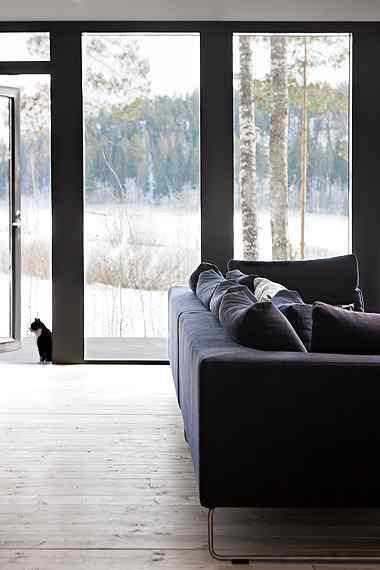 Decoración de casas: interiores en estilo moderno nórdico 3