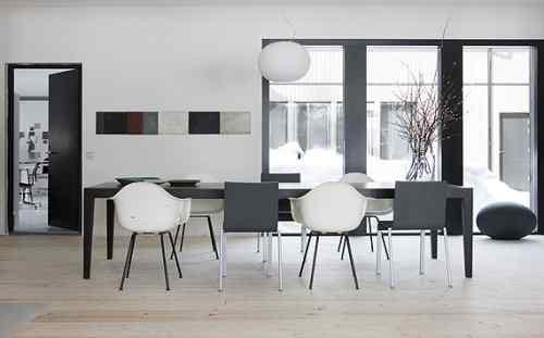 Decoración de casas: interiores en estilo moderno nórdico 6