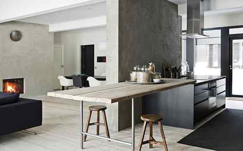 Decoración de casas: interiores en estilo moderno nórdico 7