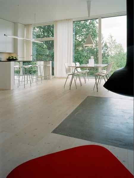 Casa con diseño y estilo minimalista escandinavo