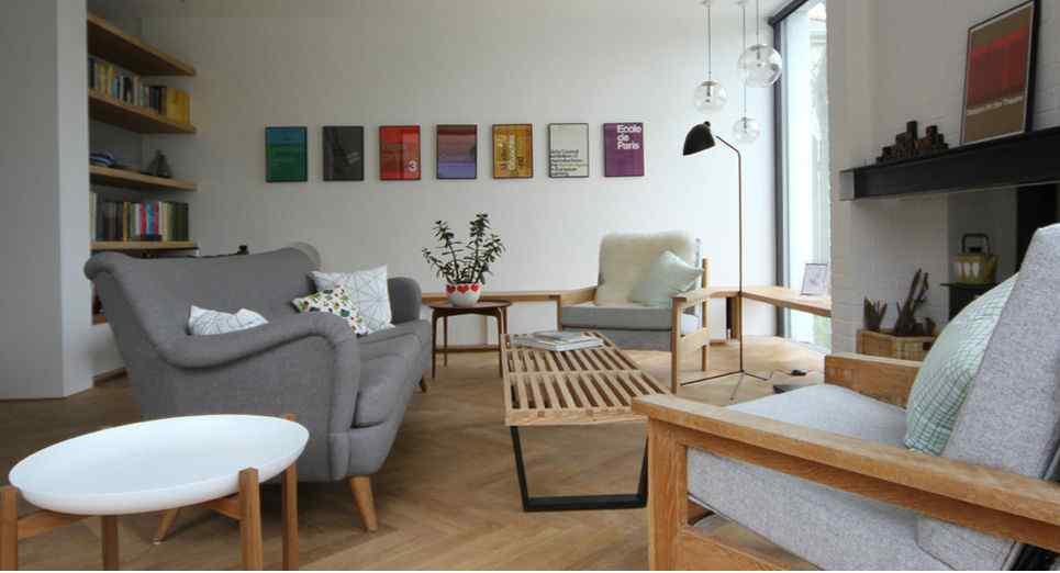 Interiores modernos por kathryn tyler - Interiorismo y decoracion moderna ...