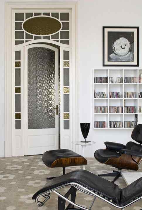 Restauracion piso señoral: biblioteca