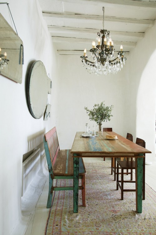 Casa de estilo rústico en una isla griega