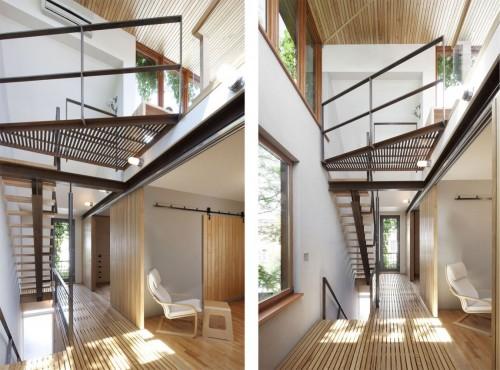 Casa moderna urbana doble altura