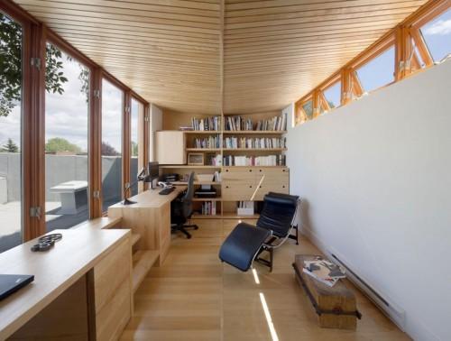 Casa moderna urbana office