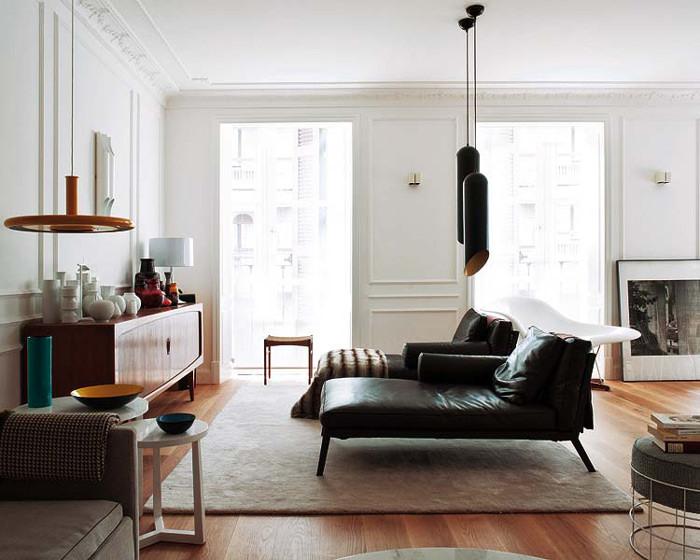Elegante y ecl ctico dise o de interiores por mikel irastorza for Estilo eclectico diseno de interiores