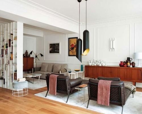 Elegante y ecléctico diseño de interiores por Mikel Irastorza