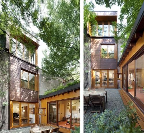 Casa moderna urbana exterior