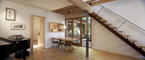 Casa moderna urbana comedor