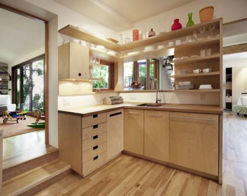 Casa moderna urbana cocina