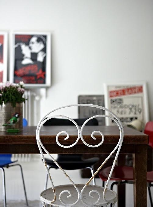 espacio joven y colorido decoracion vintage