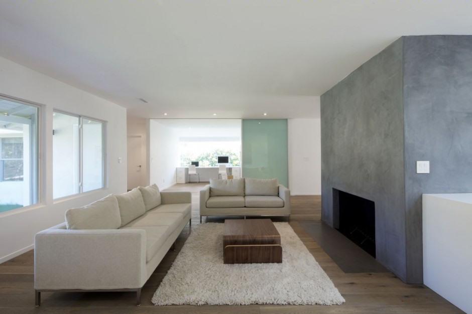 Casa moderna minimalista en california interiores for Casas minimalistas modernas interiores