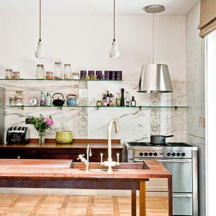 Cocina estilo ingles, casa en Notting Hill