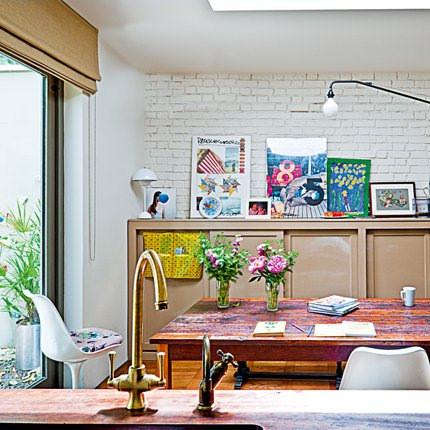 Comedor estilo ingles, casa en Notting Hill