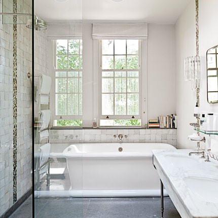 Baño estilo ingles, casa en Notting Hill