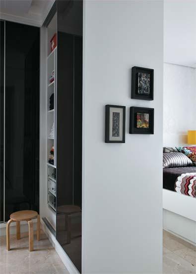 Diseño de interiores de departamentos modernos: dormitori principal