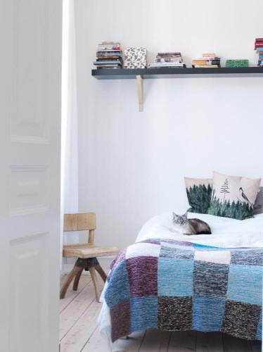 Habitación en hogar bohemio