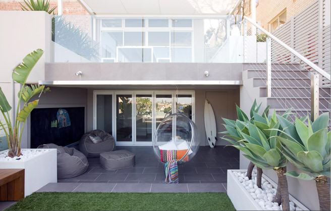 Una Terraza Moderna En Australia Diseño Decoración De Terrazas