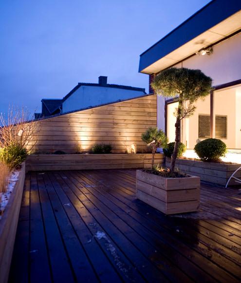Penthouse minimalista en copenhague departamentos for Mini casa minimalista