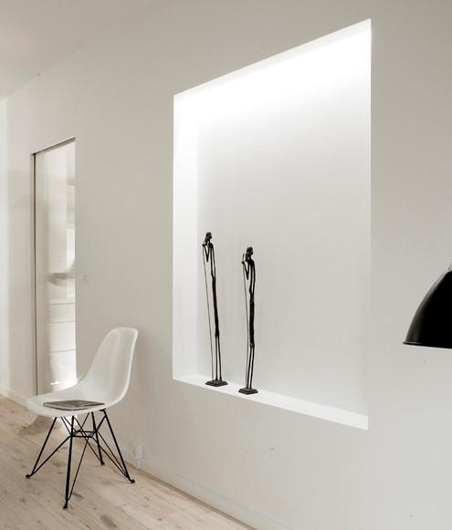 Living moderno departamento minimalista