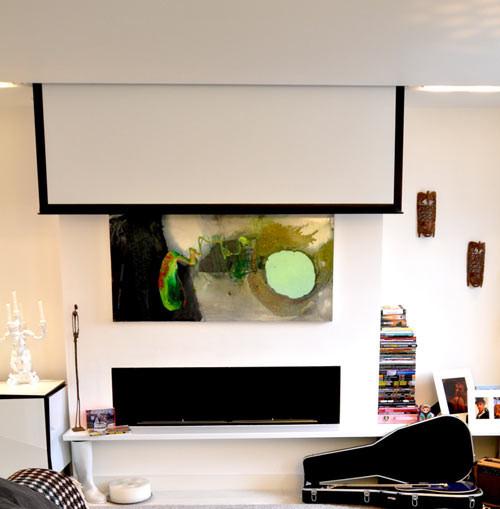 3 ambientes modernos, living moderno