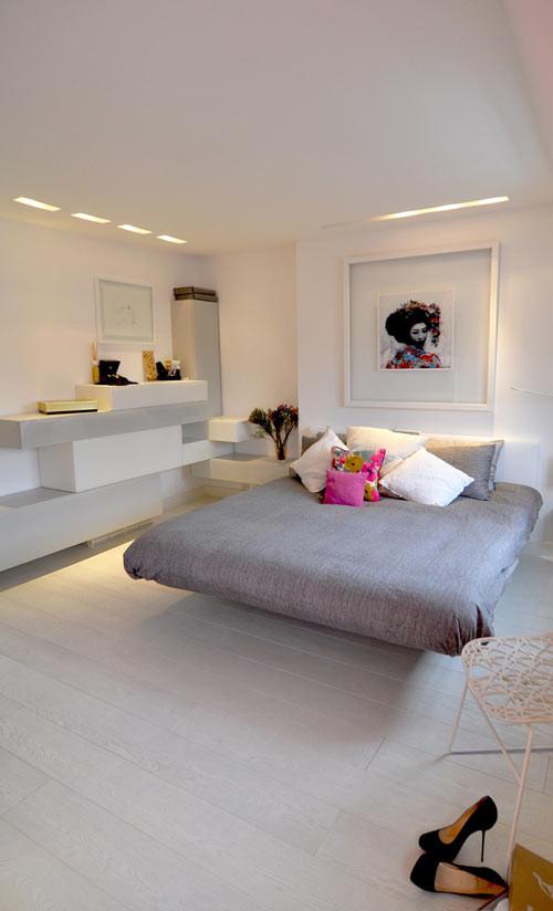 3 ambientes modernos, dormitorio moderno
