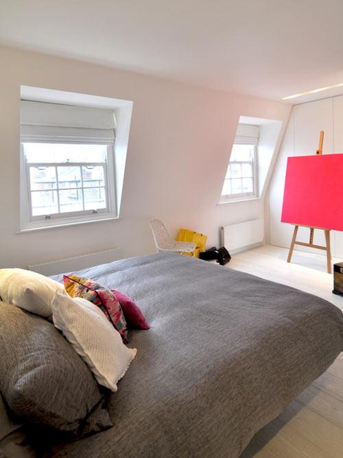 Habitacion moderna en departamento de 3 ambientes