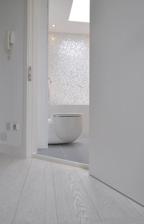 3 ambientes modernos, baño moderno