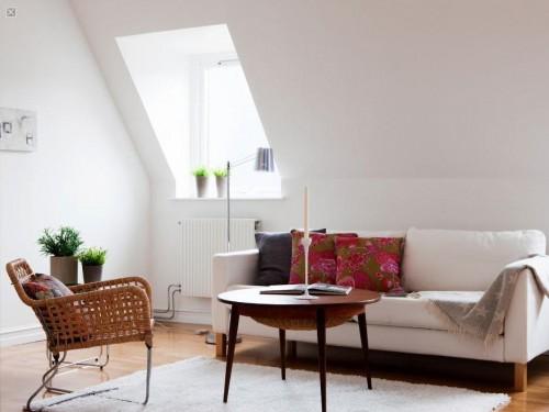 Decoración de departamentos modernos estilo escandinavo: mesa de centro escandinava
